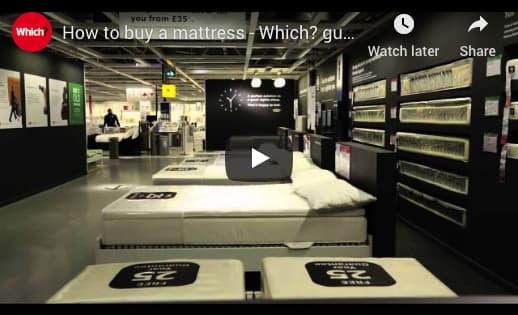 How to buy a mattress - Which? guide