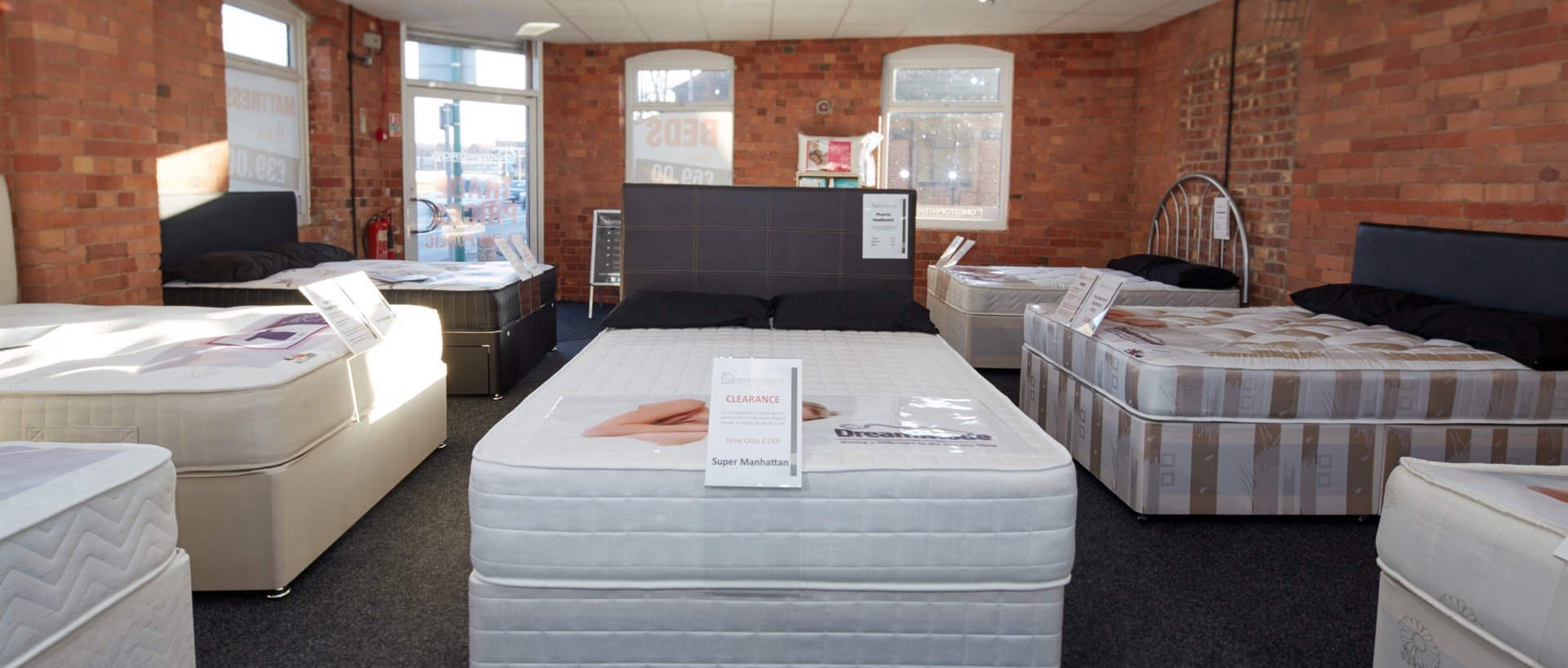 Showroom Beds, Mattresses, Carpets, Laminate Flooring in Nottingham