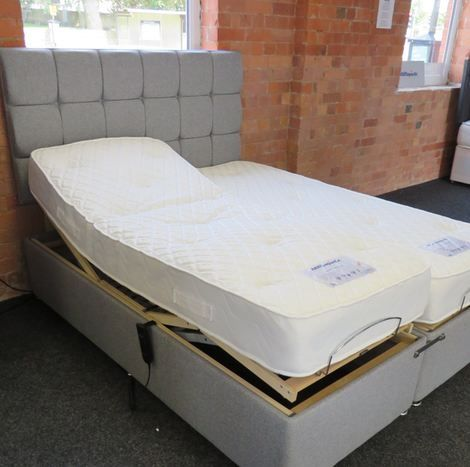 5 way electrically adjustable bed frame
